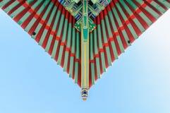 Стиль традиционной крыши китайский Стоковые Фотографии RF