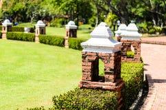 Стиль украшенный парком античный Стоковые Фотографии RF