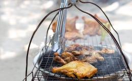 Стиль цыпленка гриля тайский Стоковое Изображение RF