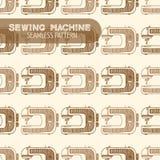 Стиль швейной машины винтажный Стоковые Фотографии RF