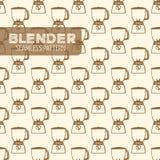 Стиль Blender винтажный Стоковые Изображения