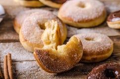 Стиль donuts старого стиля деревенский Стоковая Фотография RF