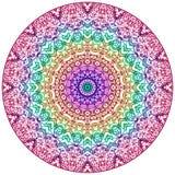 Стиль Mehndi мандалы иллюстрация вектора