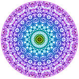 Стиль Mehndi мандалы бесплатная иллюстрация