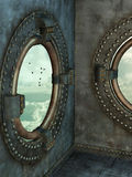 Стиль Steampunk Стоковые Изображения RF