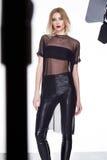 Стиля моды одежд женщины красивое модельного сексуальное Стоковые Фото