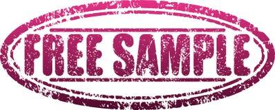 Стиля grunge свободного образца избитая фраза красного затрапезная иллюстрация вектора