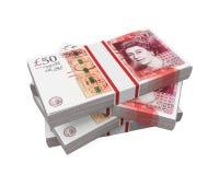 Стога банкнот 50 фунтов