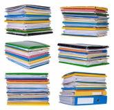 Стога бумаг и документов Стоковые Изображения