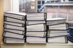 Стога документа офиса стоковые изображения