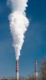 стога дыма силы завода стоковые изображения