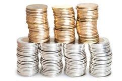 Стога канадских монеток Стоковые Изображения