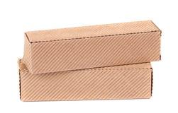 Стога картонных коробок. Стоковые Фотографии RF