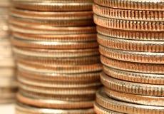 стога монетки Стоковое Фото