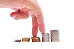 Стога монеток Стоковое Фото