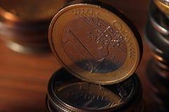 Стога монеток Стоковое фото RF