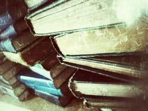 Стога старых книг Стоковые Изображения RF