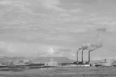 Стога дыма Стоковая Фотография RF