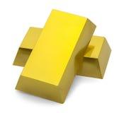 Стог бара золота Стоковая Фотография RF