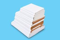 Стог белой книги крышки Стоковое фото RF