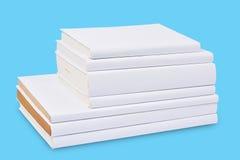Стог белой книги крышки Стоковые Изображения