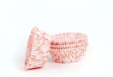 Стог бумажных чашек пирожного Стоковая Фотография RF