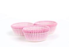Стог бумажных чашек пирожного Стоковые Фото