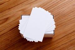 Стог визитной карточки Стоковое Изображение