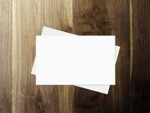 стог визитных карточек Стоковые Изображения