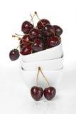 стог вишни шаров ягод свежий стоковое изображение