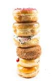 Стог вкусных donuts Стоковые Изображения