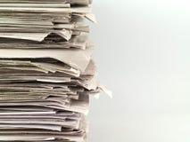 стог газеты стоковая фотография rf