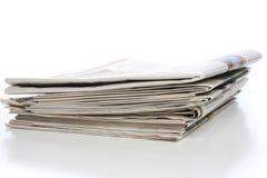 стог газет Стоковое Изображение RF