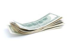 стог дег долларов крупного плана Стоковые Изображения RF