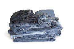 стог джинсыов Стоковые Изображения RF
