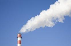 стог дыма Стоковые Изображения RF