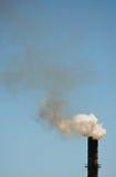 стог дыма Стоковая Фотография