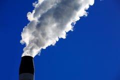 стог дыма Стоковое Изображение