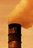 стог дыма Стоковые Фото