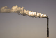 стог дыма Стоковое Изображение RF