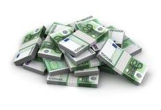 Стог евро бесплатная иллюстрация
