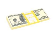 Стог денег Стоковые Изображения