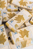 Стог денег Стоковая Фотография
