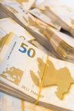 Стог денег Стоковая Фотография RF