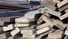 Стог деревянных адвокатских сословий Стоковые Фотографии RF