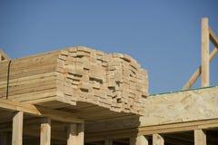 Стог деревянных блоков Стоковые Фотографии RF