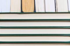 Стог используемых старых книг Стоковые Изображения