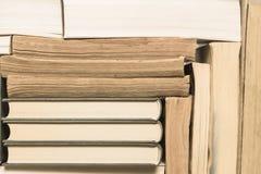 Стог используемых старых книг Стоковое фото RF