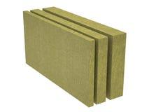Стог каменной изоляции шерстей Стоковые Фото