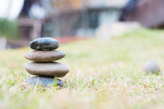 Стог камней камушка Стоковое Фото